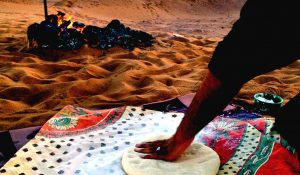 cooking in desert morocco
